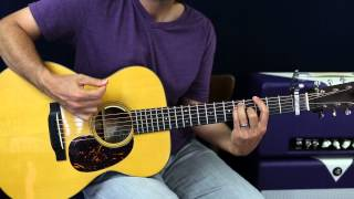 How To Play - Flo Morrissey - Pages Of Gold - Guitar Lesson - Acoustic Strumming Version