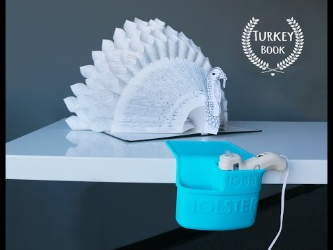 DIY Turkey Book Tutorial How To by Holster Brands