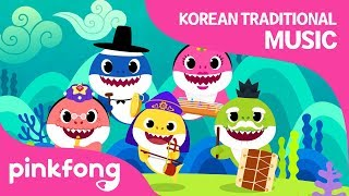 Shark Family's Concert | Baby Shark | Korean Traditional Music | Pinkfong Songs for Children