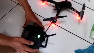 Drone Mjx bugs 2w gps remot mod pakai syma x5sw-1 harga 450