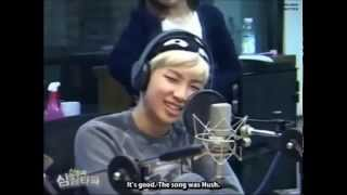 [Eng Sub] Rap Monster Guessing Girl Groups Song @ Shimshimtapa Radio