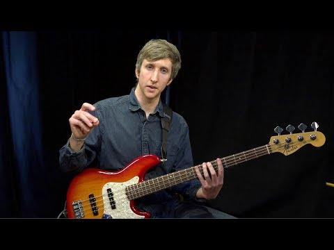 Beginner Bass Exercise and Proper Posture