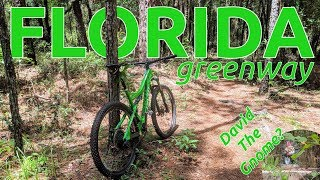 Checking out Florida's mountain biking.