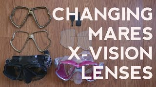 Changing Mares X-Vision Lenses | Quick Scuba Tips