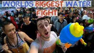 Songkran Water Festival Bangkok - The worlds biggest water fight!