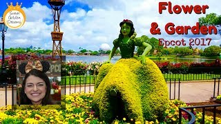 Flower and Garden Festival at Epcot - Disney has a green thumb and beautiful flowers!