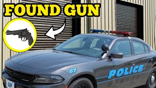 POLICE, GUN & Old Abandoned Storage Unit Locker Owner At The Auction / Real Life Storage Wars