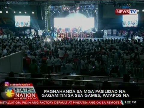 [GMA]  SONA: Paghahanda sa mga pasilidad na gagamitin sa Sea Games, patapos na
