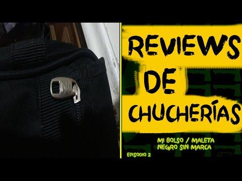 Mi Bolso / Maleta Negro Sin Marca - Reviews de Chucherías - Episodio 2
