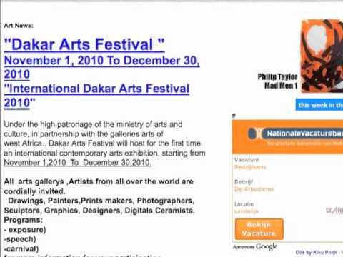 Re: Dakar Arts Festival Open call
