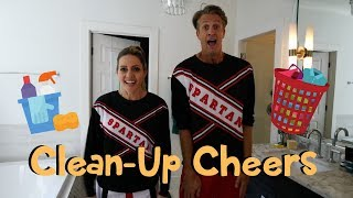 Cheers for Cleaning Up - SNL Spartan Cheerleader Parody