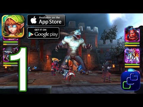 Heroes and Titans: 3D Battle Arena Android iOS Walkthrough - Gameplay Part 1 - Chapter 1
