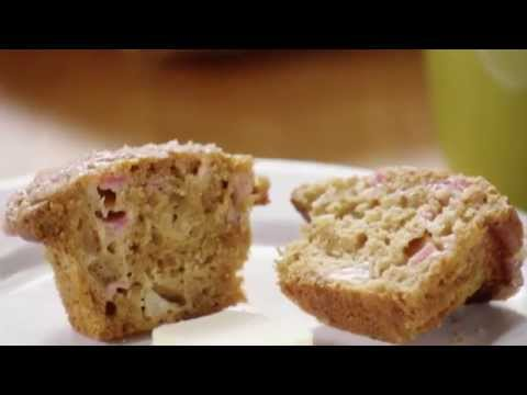 Video Muffin Recipes - How to Make Rhubarb Muffins