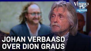 Johan verbaast zich over Dion Graus: 'Je moet een hond aaien, maar je vrouw mag je slaan?'