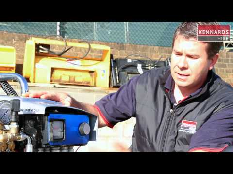 Hire PRESSURE WASHER - 3600PSI DIESEL (TRAILER)
