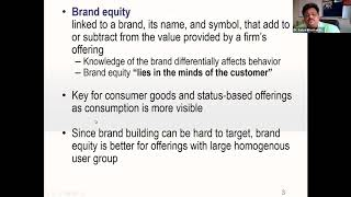 CAHO Webinar : Role of marketing activities for hospital brand equity By- Prof. Satya Bhushan Dash