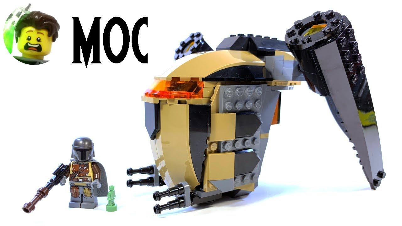 LEGO Bounty Hunter Ship MOC