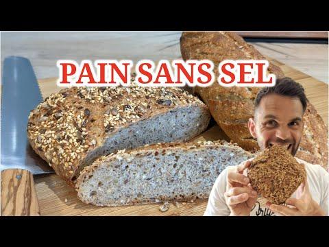 Pain sans sel ! une recette de pain sans sel à la maison super facile