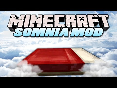 Minecraft Mods - Somnia Mod - SIMULATE YOUR WORLD (Minecraft Mod Showcase)