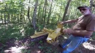 Rock Rake Tractor Implement Overview