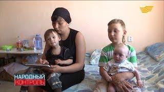 В Уральске вдову с тремя детьми выселяют на улицу