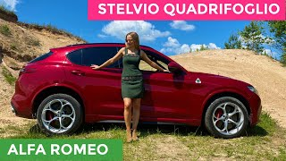Alfa Romeo STELVIO QUADRIFOGLIO - Is It Really This Good?