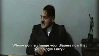 Hitler Finds Out Larry King is Having a Divorce