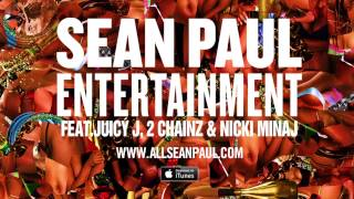 Entertainment 2.0 - Sean Paul (ft. Juicy J, 2 Chainz, & Nicki Minaj) (Official Audio)