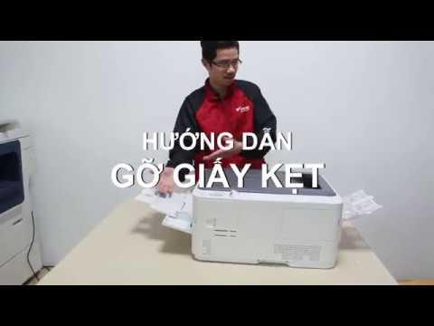 Gỡ giấy kẹt đơn giản ở máy in màu OKI C332dn