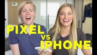 PIXEL vs. iPHONE ft. iJustine! - Video Youtube
