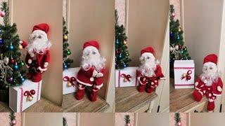 Дед Мороз из капрона своими руками! Мастер класс.