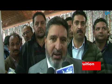 Education minister orders closure of tuition centres in Kashmir for three months