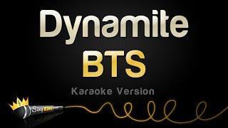BTS - Dynamite (Karaoke Version)