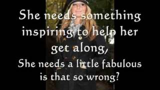 Fabulous - By: Ashley Tisdale (lyrics and pictures)