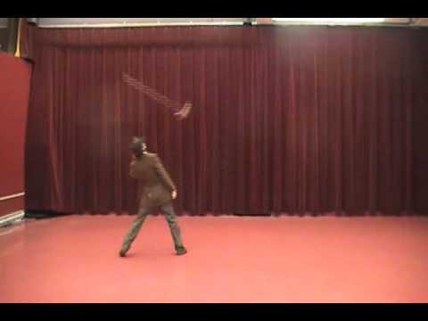 The Magic Broom - Terrific Acrobatic Act!