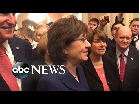 The Senate and House vote to end government shutdown
