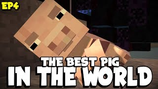 THE BEST PIG IN THE WORLD !! Minecraft Story Mode season 2 HYPE !! ep 4  - 🔴  LIVE