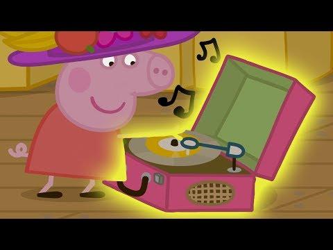 Peppa Pig en Español Episodios completos La música | Pepa la cerdita