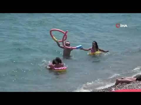 Antalya kavruluyor: 43 Derece
