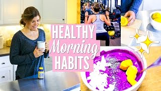 Easy Ways to Have a Healthier Morning Routine   Start Your Day the Right Way!