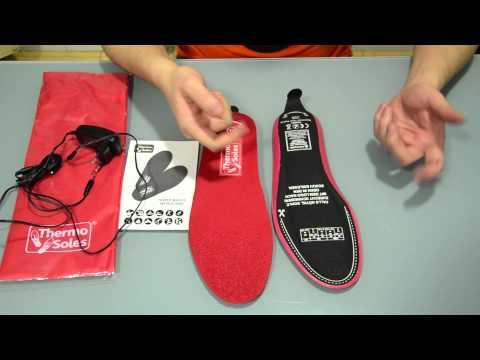 THERMO SOLES. Plantillas Calefactables