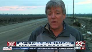 Several Kern County roads still closed