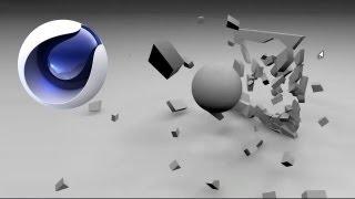 Cinema 4D: Breaking Objects Tutorial