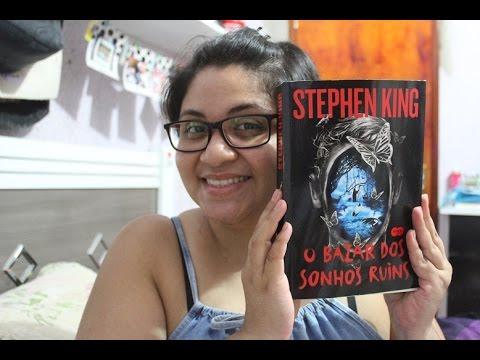 O bazar dos sonhos ruins | Stephen King | Resenha + SORTEIO!!!