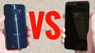 Galaxy S7 vs iPhone 7 Plus