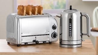 How to use the Dualit Classic Toaster preview