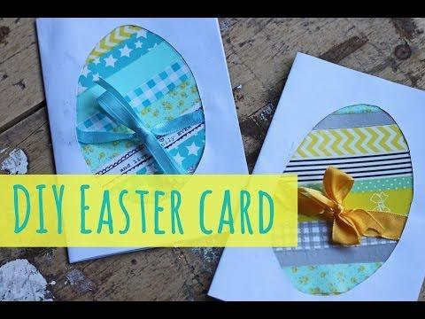 Φτιάξτε εύκολα μόνοι σας ευχετήριες κάρτες για το Πάσχα