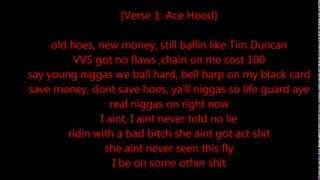 Ace Hood - On Right Now (LYRICS) (HQ)