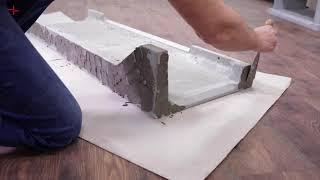 Аккумуляционная печь каминофен (Кафельная печь) Haas + Sohn Levi (декор вертикальный) від компанії House heat - відео