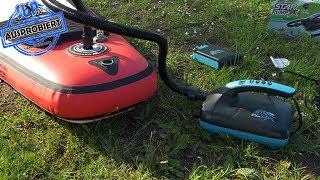 AKKU-Pumpe für SUP-Boards AUSPROBIERT - Star Pump 8 (bis 20 psi)